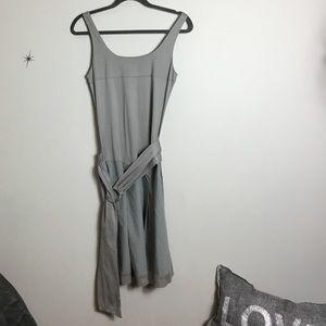 JNBY Grey Belted Dress